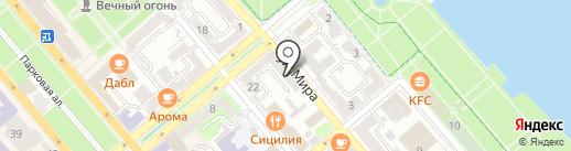 Правовой центр на карте Новороссийска