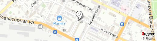Нотариус Чич С.Н. на карте Новороссийска