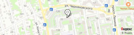 Бюро Полет на карте Новороссийска