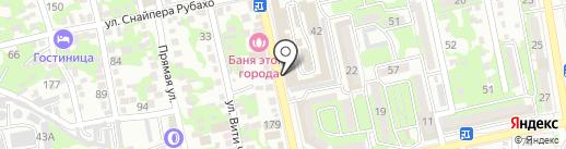 Платинум Пак на карте Новороссийска