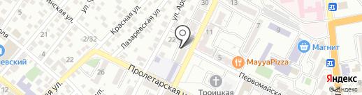 Муссовые-торты.рф на карте Новороссийска