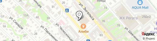 СНР на карте Новороссийска