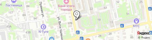 Miss-clean на карте Новороссийска