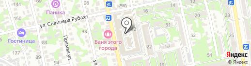 Магазин кухонных моек на карте Новороссийска