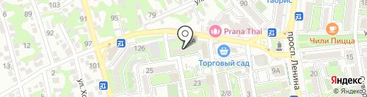 ДЭМИ на карте Новороссийска