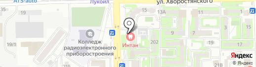 ИНТАН на карте Новороссийска