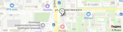 Фотоимидж на карте Новороссийска