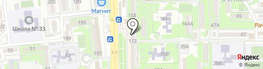 Д.О.М М О.Д. Ольги Дубовой на карте Новороссийска