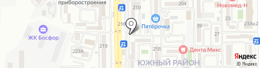 Адвокатский кабинет Узунян В.Г. на карте Новороссийска