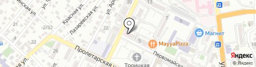 Евромед на карте Новороссийска