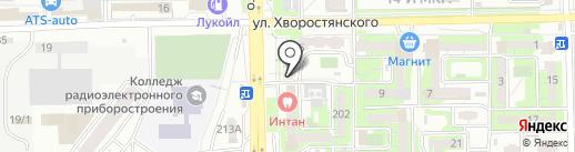 Жилищная управляющая компания на карте Новороссийска