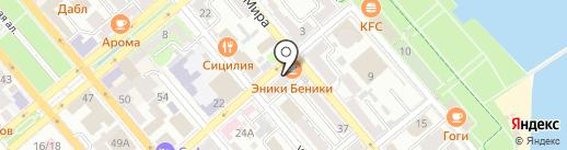 Филантроп на карте Новороссийска