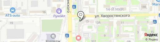 Виктория на карте Новороссийска