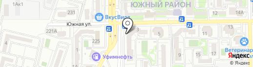 Maxi на карте Новороссийска