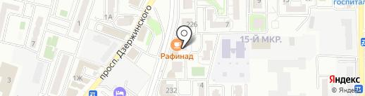Брызги Визги на карте Новороссийска