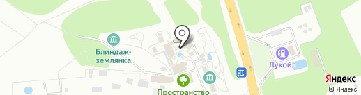 Гостиный двор на Хуторке на карте Домодедово