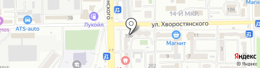 КФК на карте Новороссийска