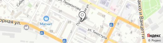 ОРИОН на карте Новороссийска