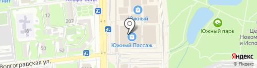 Валентина на карте Новороссийска