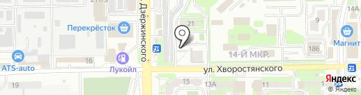 АКИБ Образование на карте Новороссийска