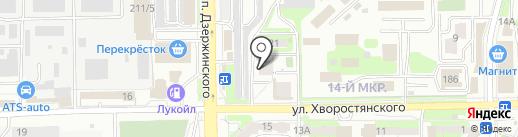 Светлячок на карте Новороссийска