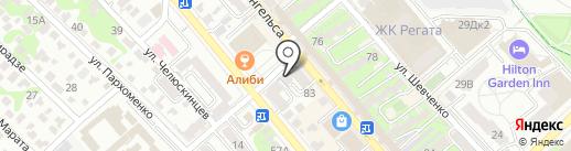 БелМода на карте Новороссийска