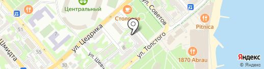 Sedamar на карте Новороссийска