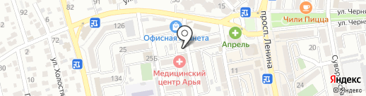Визард Фэн-Шуй на карте Новороссийска