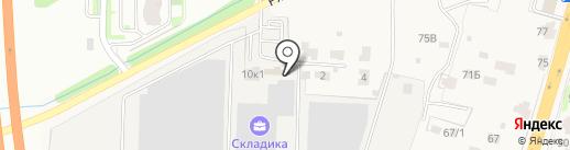 ТехноСтудия на карте Домодедово