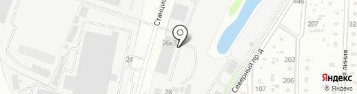 Атлантикфиш на карте Домодедово
