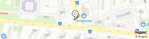 Смарт на карте Москвы