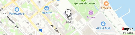 Краснодарский краевой юридический центр на карте Новороссийска