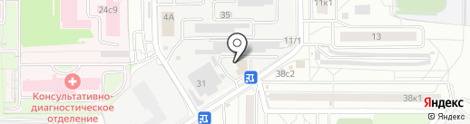Каспер на карте Мытищ