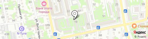 SMM Strateg на карте Новороссийска