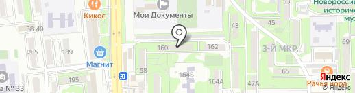 Луч, ТСЖ на карте Новороссийска