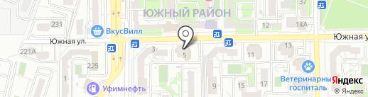 Фитофарм на карте Новороссийска
