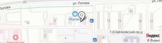Провет-Капуцин на карте Мытищ