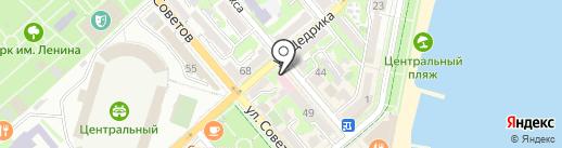 Противотуберкулезный диспансер №23 на карте Новороссийска