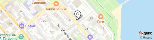Мой город на карте Новороссийска