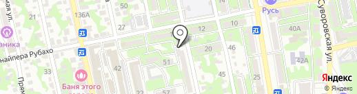Ростовщик на карте Новороссийска