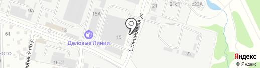 Экспорт сервис на карте Домодедово