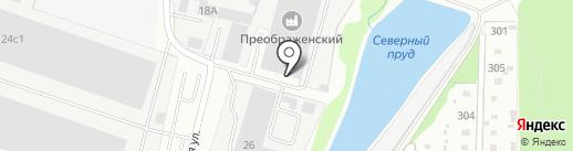 Белтехнотрейд на карте Домодедово