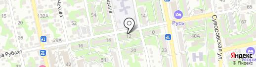Хозяйственный магазин на карте Новороссийска