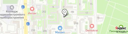 Швейное ателье на карте Новороссийска