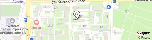Компания на карте Новороссийска