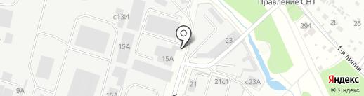 Ветрастар на карте Домодедово