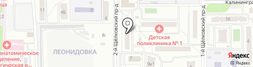 Арендарент на карте Мытищ