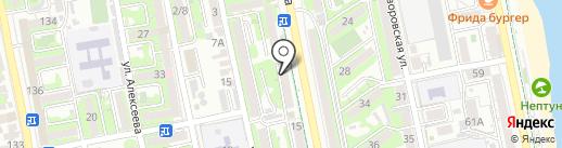 А-МИКС на карте Новороссийска