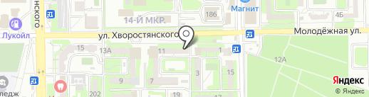 ЕдаУс на карте Новороссийска