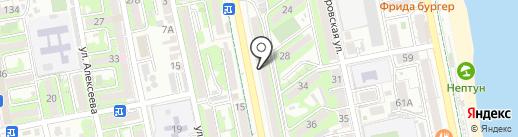 Банкомат, Росбанк, ПАО на карте Новороссийска